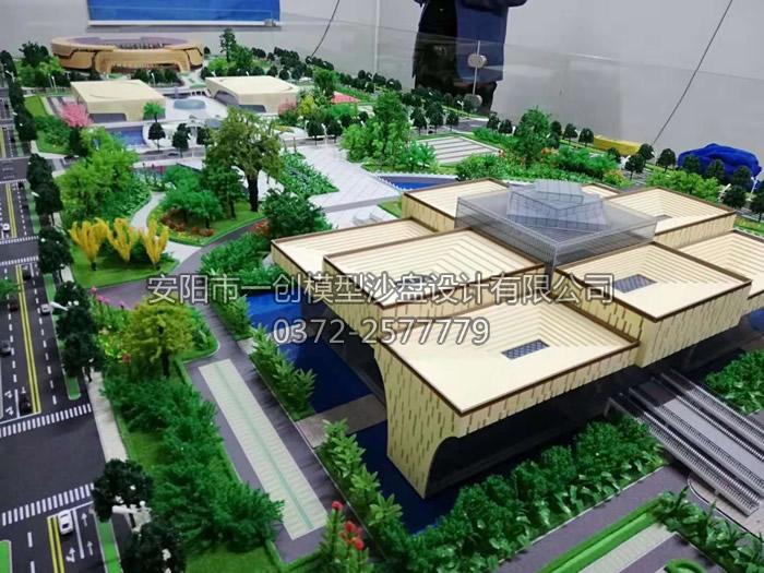 安阳一创模型与安阳市文体中心成功合作_安阳市一创模型沙盘设计有限公司,安阳模型公司,安阳沙盘公司