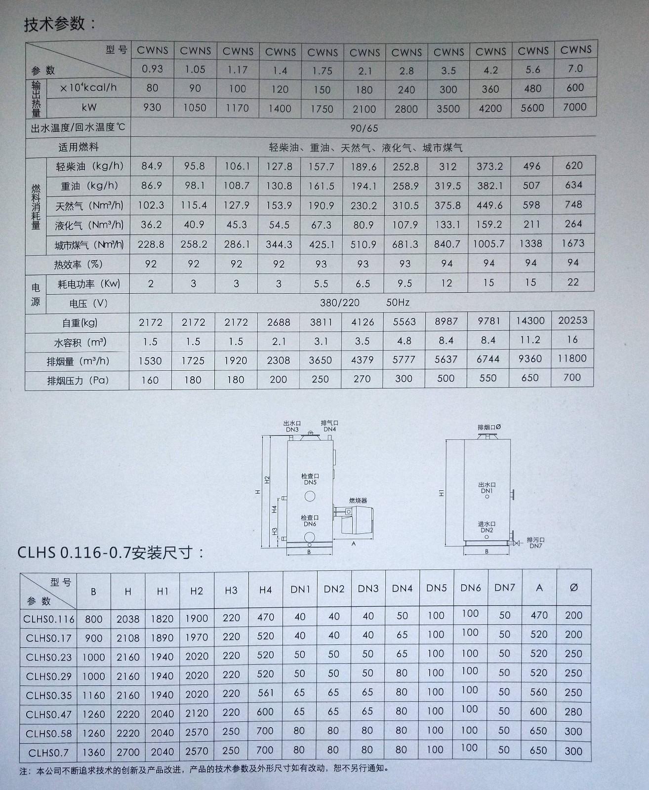 直接加熱式熱水鍋爐|CWNS/CLHS系列直接加熱式熱水鍋爐-秦皇島領航暖通設備安裝有限公司