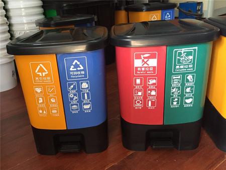 在厦门塑料桶,各色分类垃圾桶的作用|公司资讯-厦门市同安区晶晶丰容器加工厂