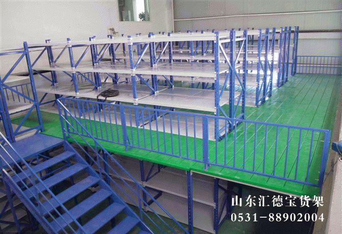 青岛货架厂怎么规范安装阁楼货架