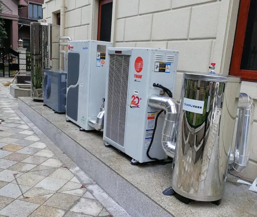 风冷热泵系统二合一系统|风冷热泵中央空调-温州市康普楼宇设备有限公司