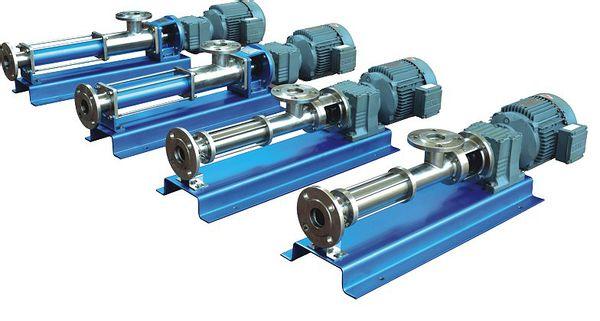 G型单螺杆泵 I-1B系列螺杆泵(浓浆泵)|化工用泵-上海亚州泵业制造有限公司