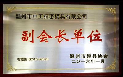 中工荣誉资质|荣誉资质-温州市中工精密模具有限公司