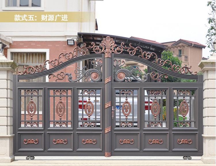 广西铝艺别墅大门|铝艺大门-广西众展金属制品有限公司