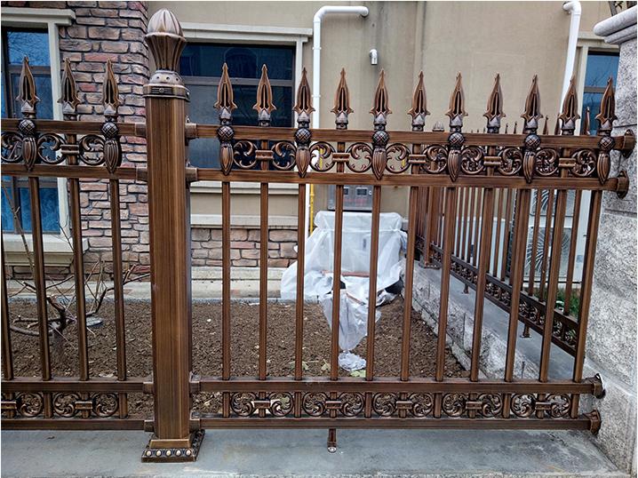 广西铝艺庭院围栏 铝艺围栏-广西众展金属制品有限公司