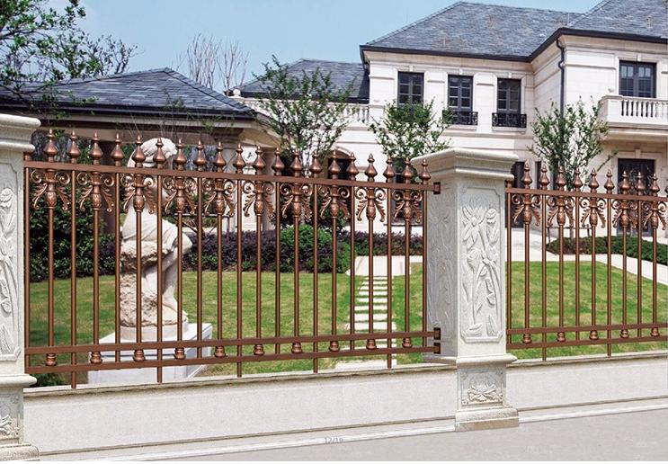 广西庭院围栏|铝艺围栏-广西众展金属制品有限公司
