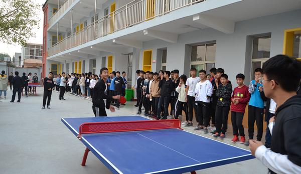 乒乓球賽|學?;顒?南陽拔萃學苑教育科技有限公司