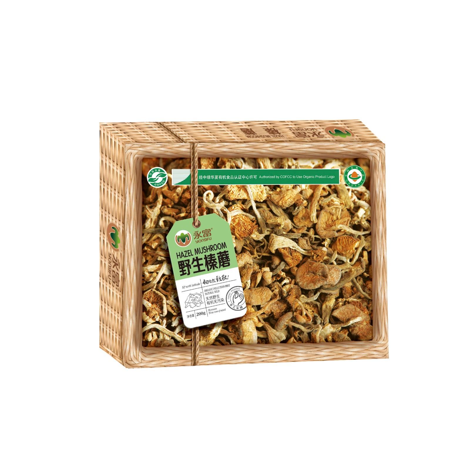 榛蘑包裝盒