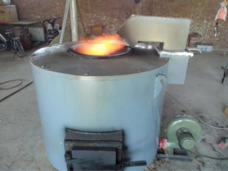 燃煤坩埚熔铝炉