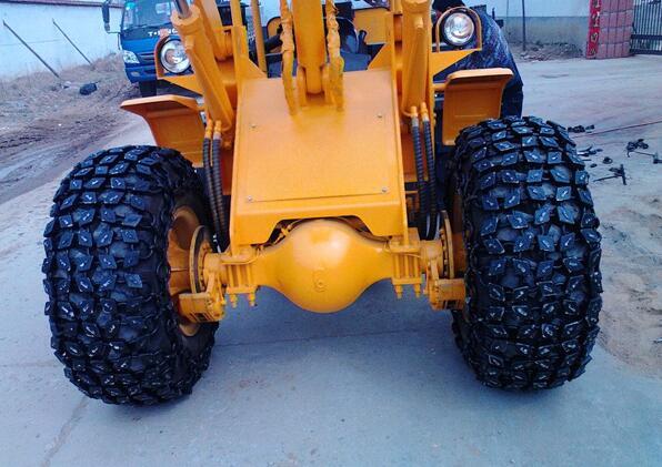 铲车轮胎防护链