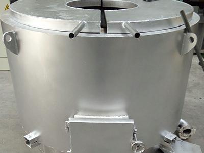 新型节能焦炭熔铝炉