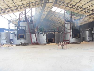 坩埚式电熔铝炉