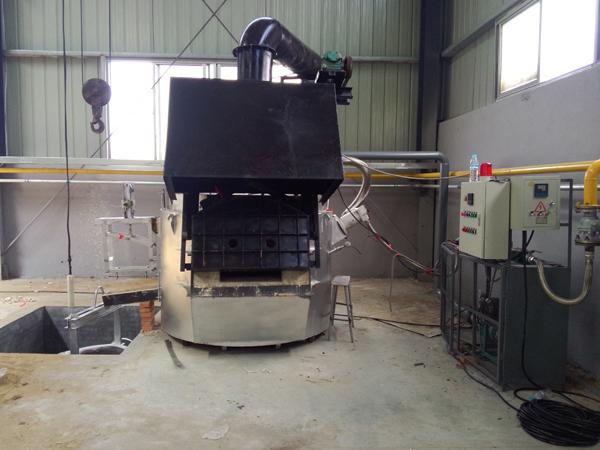 節能型燃氣熔鋁爐