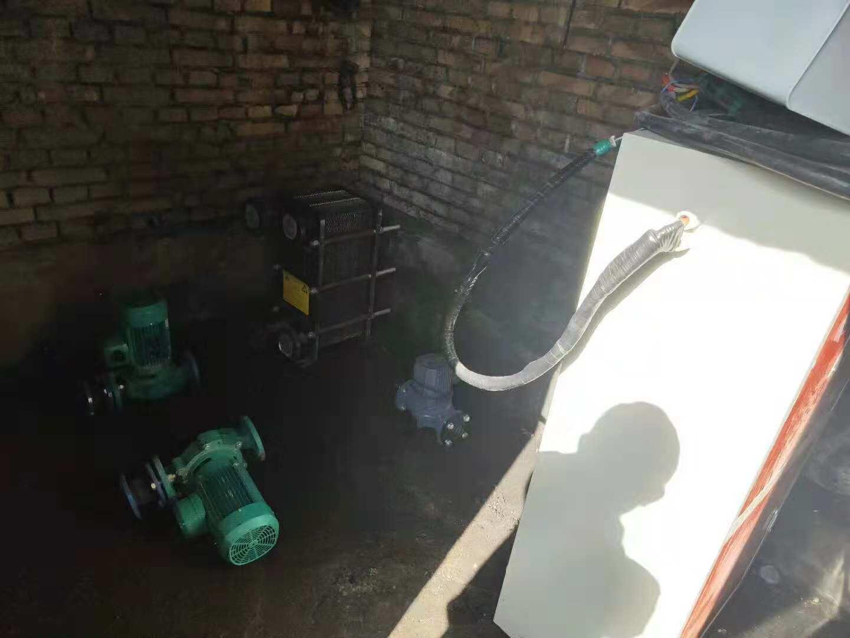 村委会 意昂量子供热机组安装完工啦!|企业动态-甘肃太阳雨能源集团有限公司兰州分公司