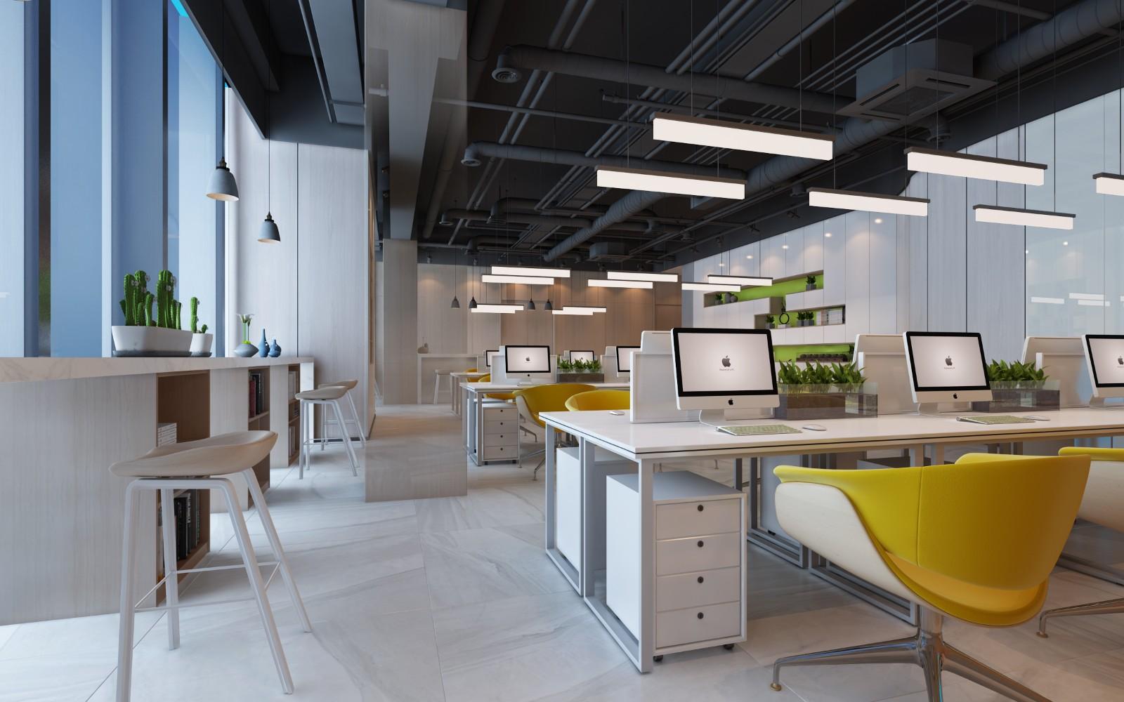 威高資本辦公空間|威高資本辦公空間-威海山舍裝飾設計有限公司
