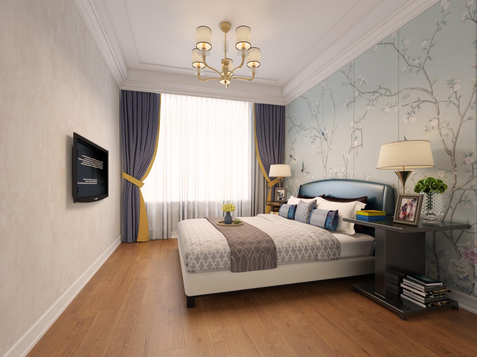 藍色多瑙河法式清新(威高坤和院)|法式-威海山舍裝飾設計有限公司
