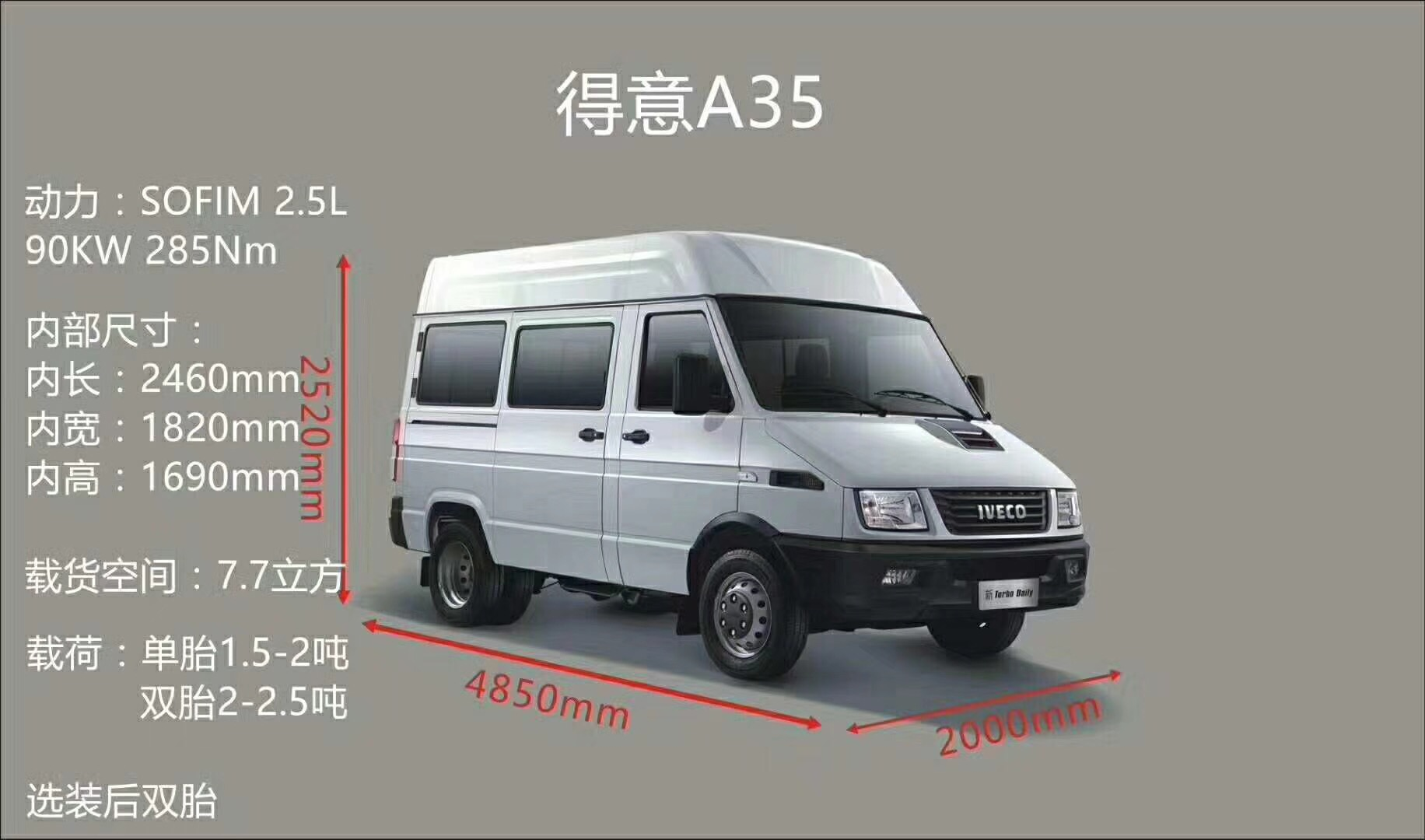 购 依维柯A35,V35最高优惠12000元|汽车快讯-盘锦远翔汽车销售有限公司
