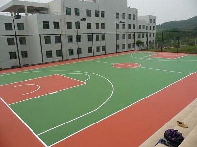 丙烯酸篮球场