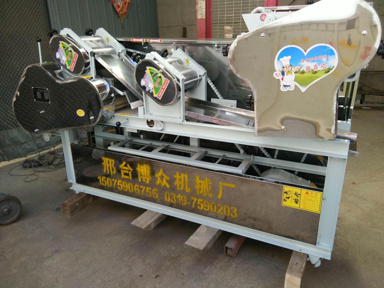 湖北黄冈林老板采购一台馄饨皮机【做皮薄至0.2】|成功案例-邢台博众机械厂