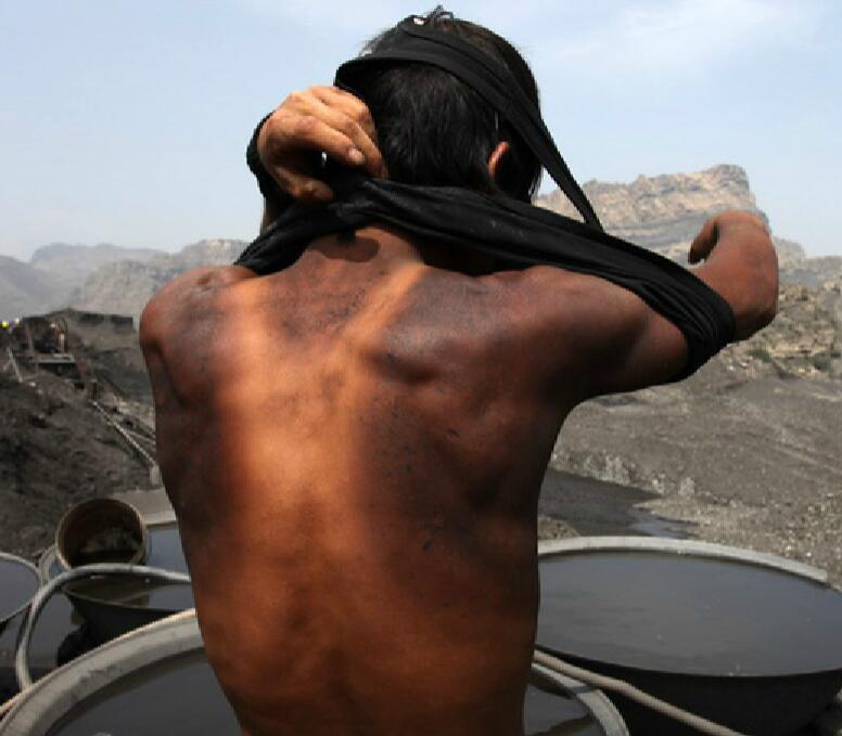 土法洗煤工人逐渐被机器取代