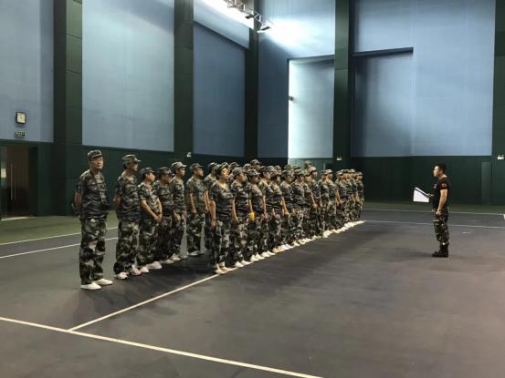 南京某机关单位2018年军训营在苏州阳山顺利开展|经典案例-无锡团建管理咨询有限公司
