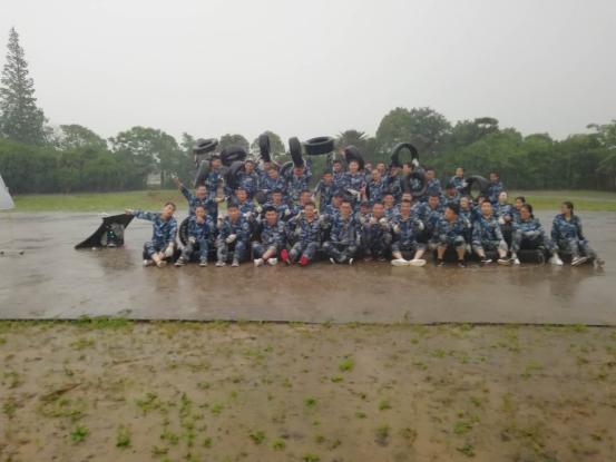 上海久久丫第五期魔训营在风雨中顺利开展进行|经典案例-无锡团建管理咨询有限公司