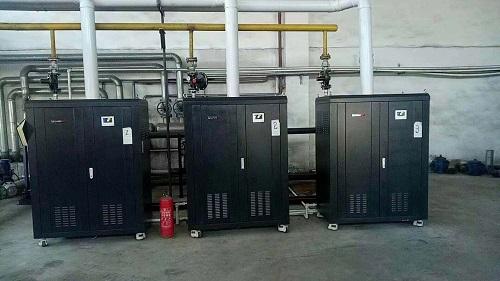 吉林長春安裝3臺360KW模塊爐并聯使用反饋圖片|模塊爐-大連渤爾科技有限公司