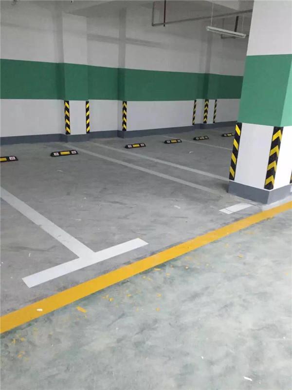 地下停車場冷漆施工