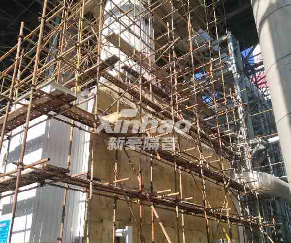 山西王坪电厂设备管道隔音降噪项目-南宁广业建材有限公司