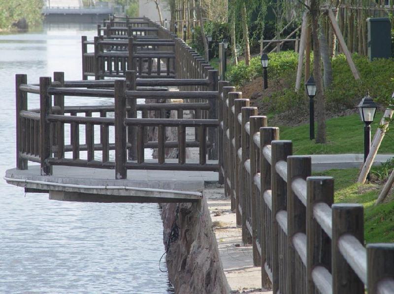 H型仿木栏杆