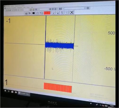 单感器记录