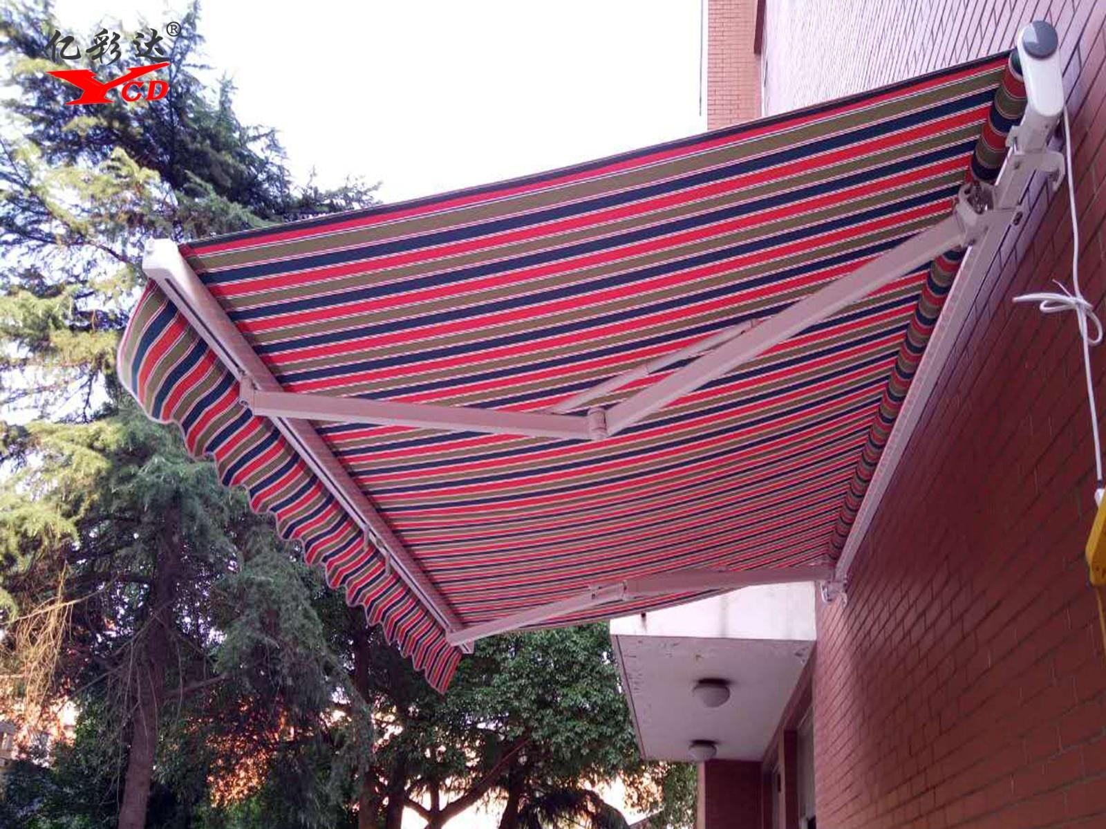经济型遮阳篷|曲臂伸缩遮阳篷-山东亿彩达遮阳节能科技有限公司