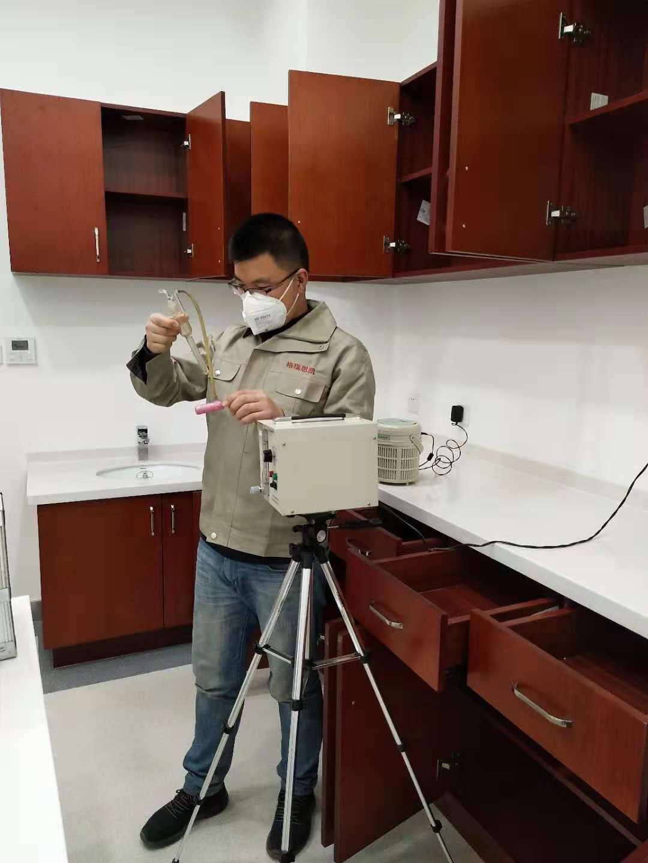甘肃省妇幼保健院儿童医学业务楼办公室装修污染治理 室内空气检测治理-甘肃格瑞思凯环保科技有限公司
