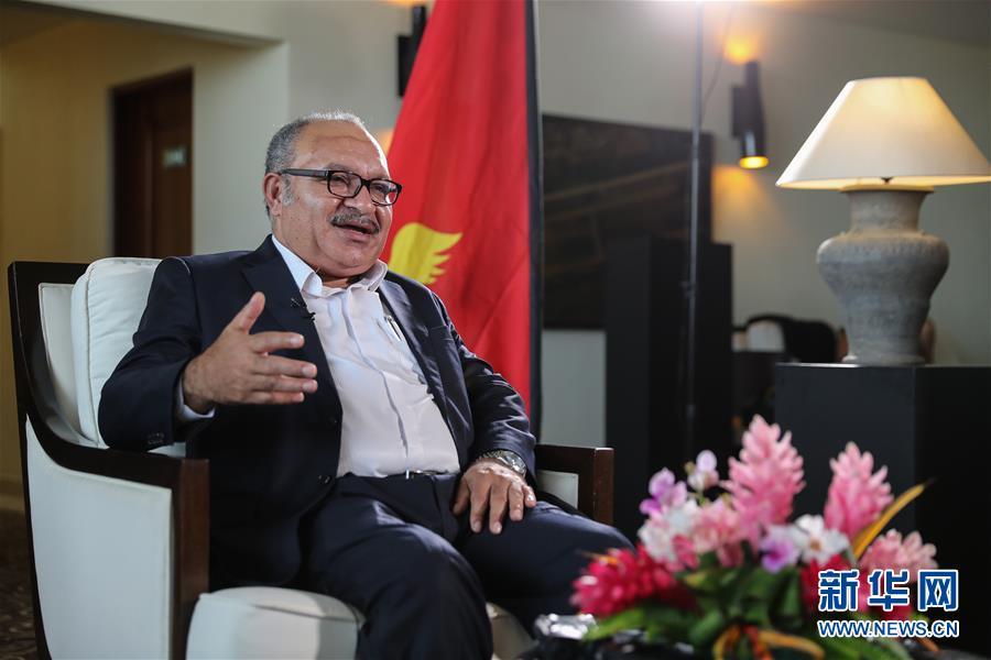 访巴布亚新几内亚总理奥尼尔