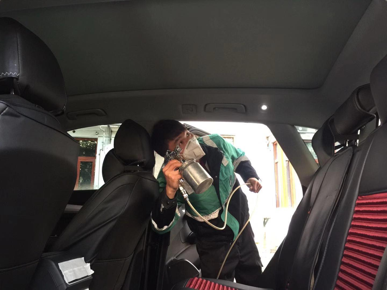 新车除甲醛治理案例|汽车交通工具空气净化-武汉小小叶子环保科技有限公司