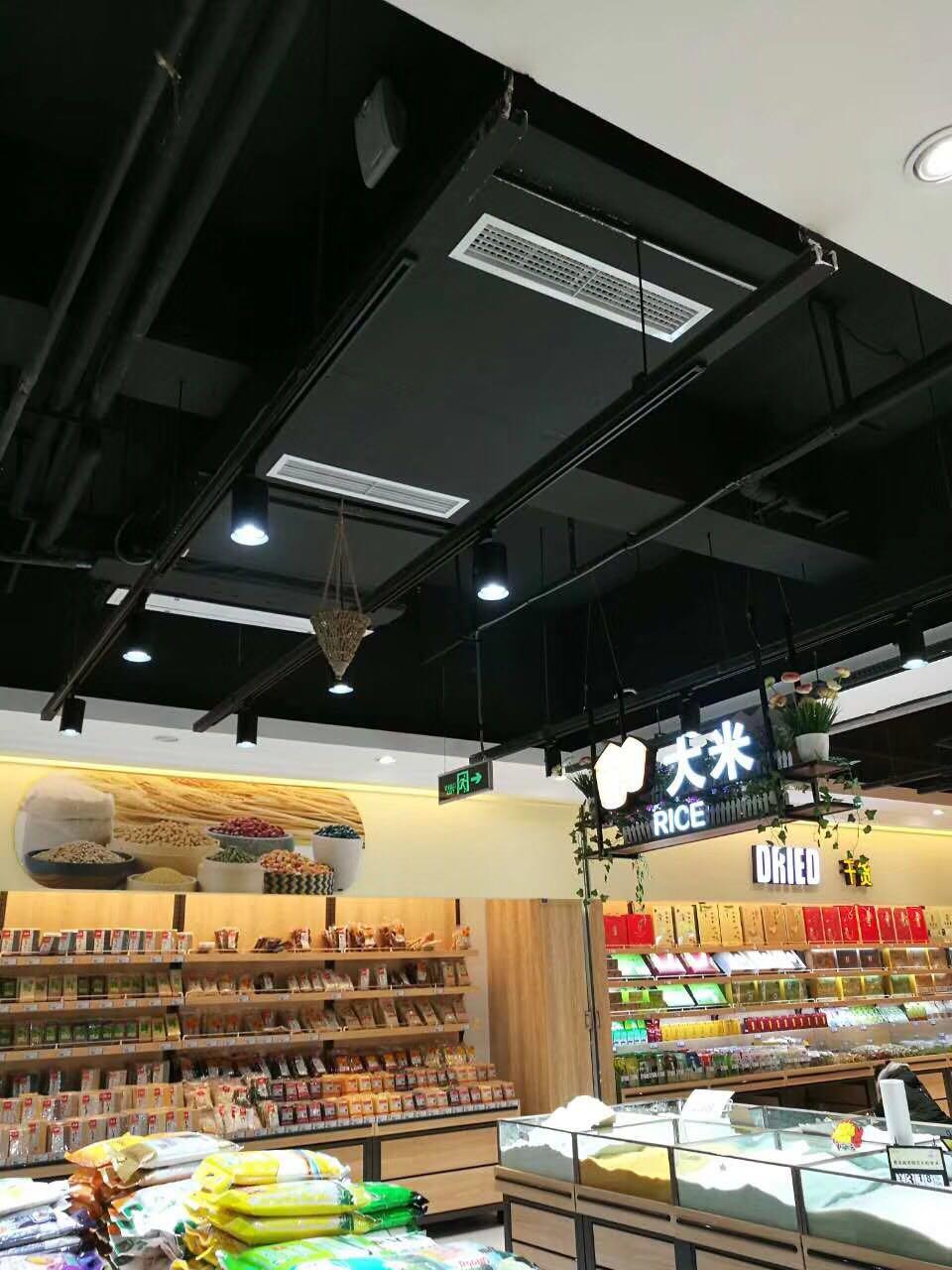 超市钢木质货架