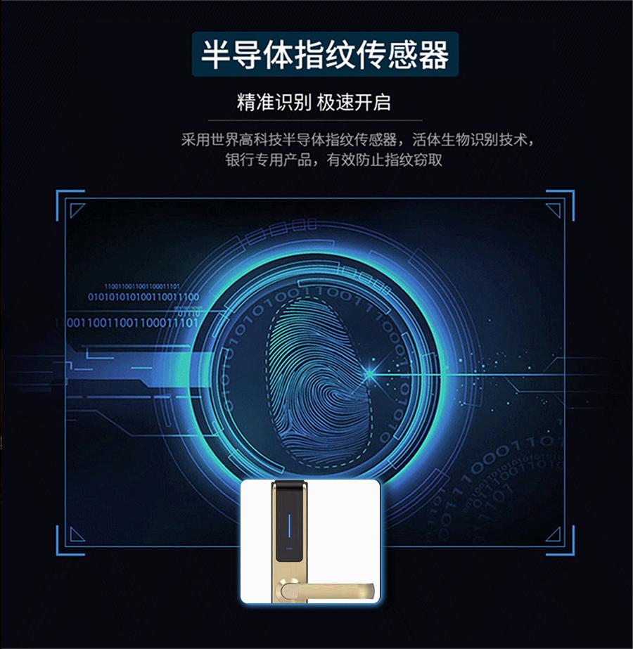 智能指纹密码锁