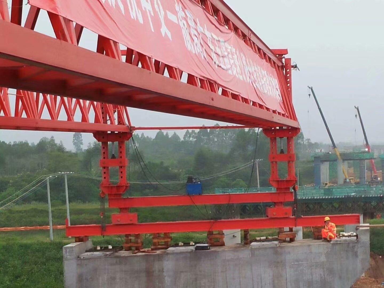 广东玉湛高速三工区首片40米箱梁,170吨重40度斜角|新闻信息-河南省新东方起重机集团