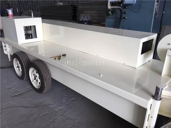 SX-178-300 大跨度车载式无梁柱拱形屋面板成型机组