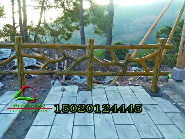 惊爆了这种仿木树枝栏杆,你见过几家做工有这么精细|行业新闻-山东鲁泽景观工程彩宝彩票平台
