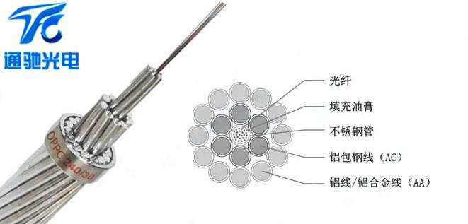 24芯OPPC光缆,OPPC24030中心束管式OPPC光缆-1.jpg