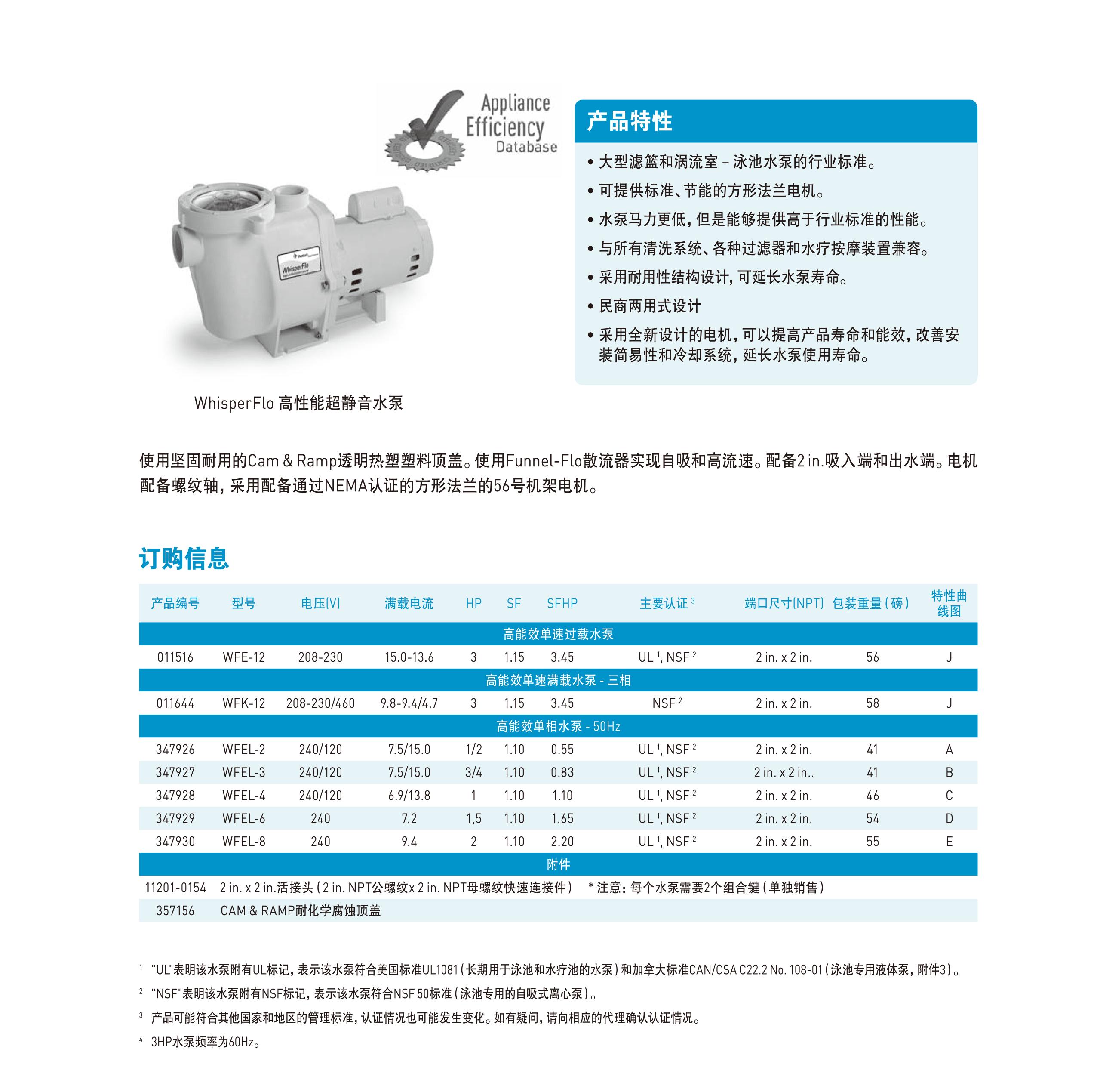 高性能超静音水泵