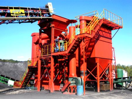 复合式干法选煤技术原理和实用范围