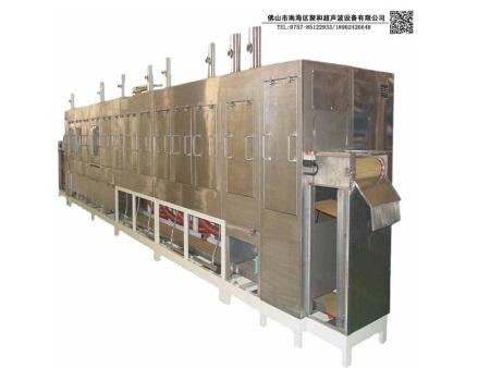 「大型超聲波清洗機」 超聲波清洗機的工作過程有什么?
