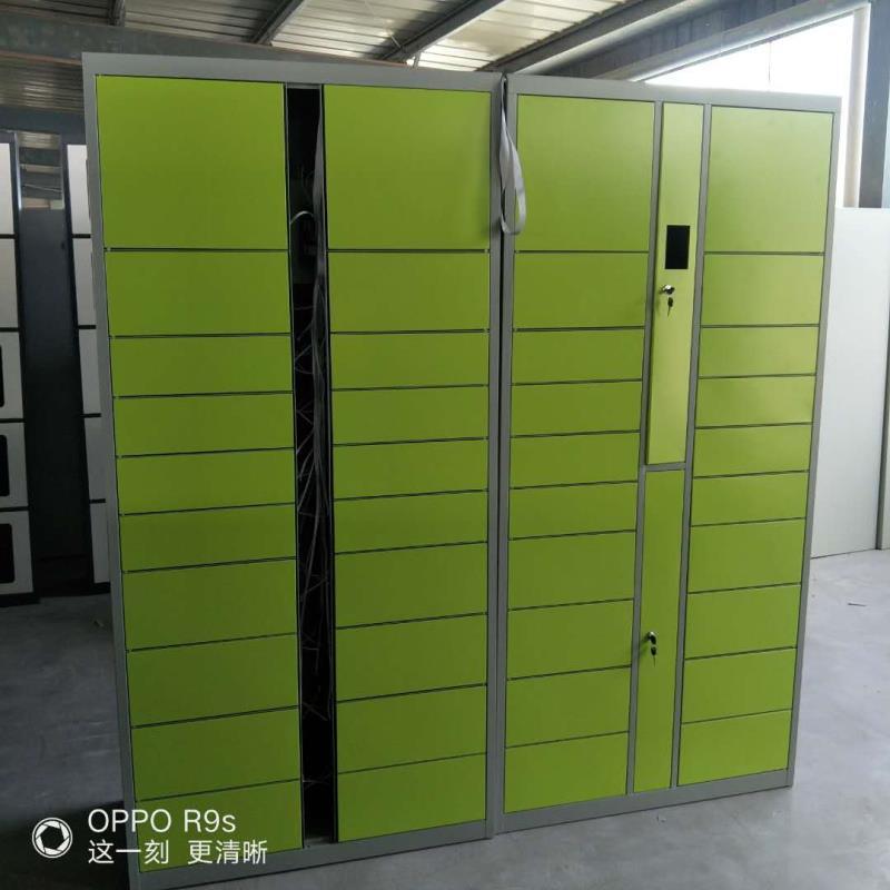 智能电子快递柜TC卡寄存柜车间储物柜小区自助快递柜,密码寄存柜
