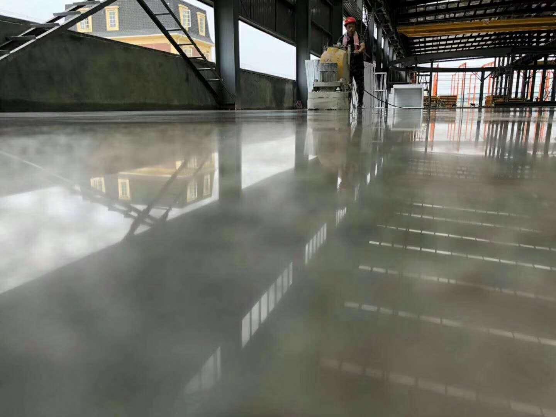 胶南金刚砂耐磨地坪