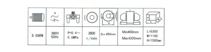 铝塑型材重型切割据王