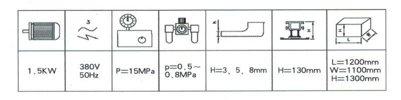 铝门窗液压同步组角机
