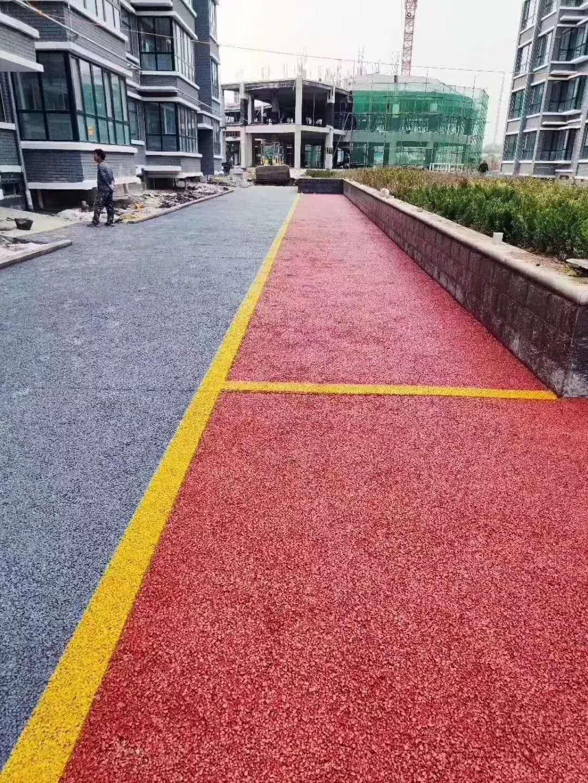 青岛彩色透水地坪