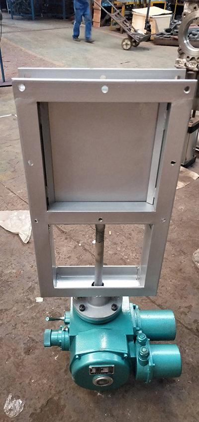 電動方形閘門